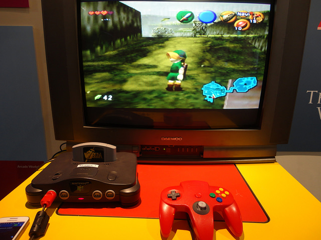 Zelda: Ocarina of Time at the National Videogame Arcade